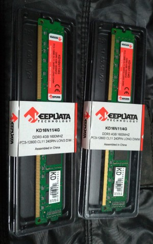 Memórias KeepData DDR3 1600Mhz - Foto 3