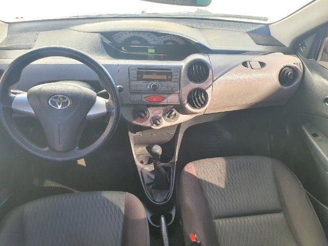 etios xs sedan 1.5 gnv 100% financiado pelos bancos - Foto 7