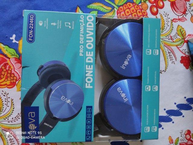 Fone pra celular vídeo game not book red set - Foto 6