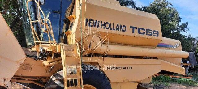 Colheitadeira New Holland TC59 Sojeira 2001