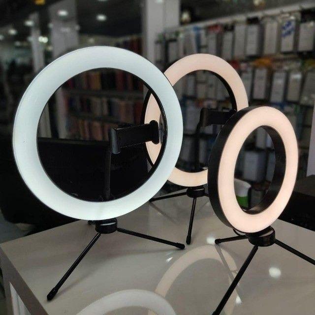 Iluminador Ring Light - 25 cm - c/ Tripe e Suporte - LAM-8478 - Inova  - Foto 2