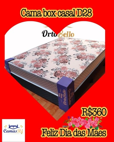 cama box casal solteiro - Foto 3