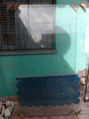 Janela de vidro temperado incolor de 8 mm - Foto 2