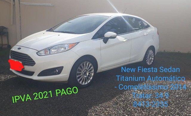 New Fiesta Sedan Titanium Automático  - Foto 2