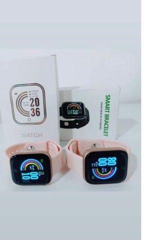 Smartwatch Y68 / D20   Bluetooth / Usb / Monitor Pulseira Relógio Inteligente - Foto 5