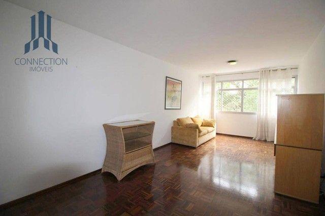 Apartamento com 3 dormitórios para alugar, 120 m² por R$ 2.000,00/mês - Centro Cívico - Cu - Foto 4