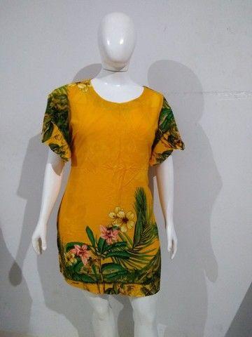 Vestido Feminino Plus Size Grande GG XXG - Foto 3