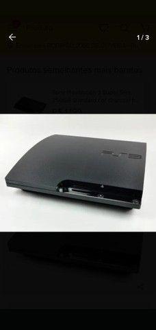 Playstation 3 slim 25 jogos originais e controle ipega 9076