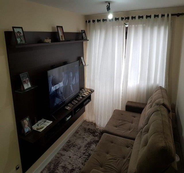 Apartamento com 3 quartos semi mobiliado no_Fazendinha - Foto 10