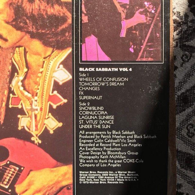 LP BLACK SABBATH VOL. 4 - Foto 6