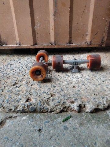Rodinhas de skates conpleta - Foto 5