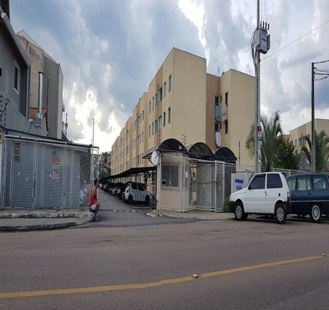 Apartamento com 3 quartos semi mobiliado no_Fazendinha - Foto 4