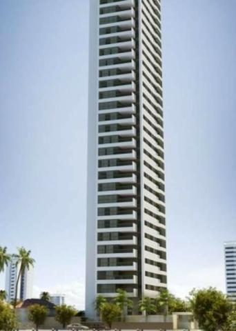 Alto luxo na Avenida BoA Viagem 4 suítes 217m² imóvel novo oportunidade de verdade
