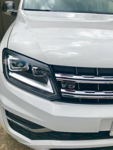 VW Amarok V6 Top De linha, 8.500 km. Rodas 22, em Estado de Zero Km!!!!! - Foto 2