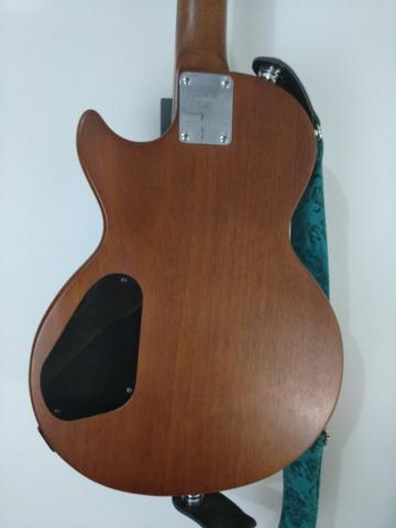 Guitarra Epiphone Walnut Vintage Ve Blindada, tarraxas klusson +upgrades - Foto 2