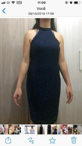 Vestido Azul Marinho - Foto 2