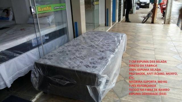 Cama box de solteiro com 7 espuma - Foto 2