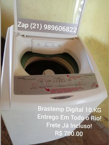Brastemp Digital 10.KG(1 Ano De Garantia)Entrego e Testo