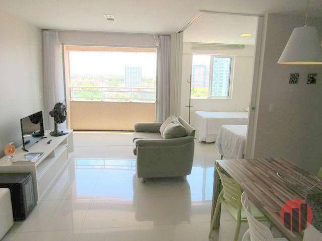 Apartamento todo mobiliado com 2 dormitórios para alugar, 57 m² por R$ 2.000/mês - Cidade  - Foto 13