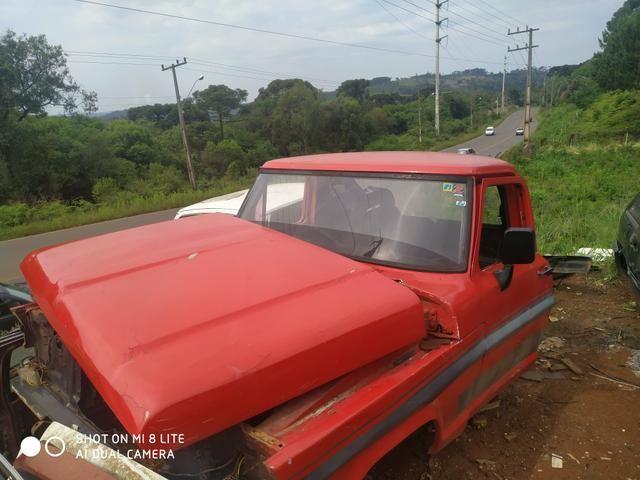 Gabina F1000 completa capô paralama e vidros dianteiro e trazeiro - Foto 3