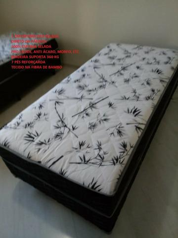 Cama box de solteiro com 7 espuma - Foto 3