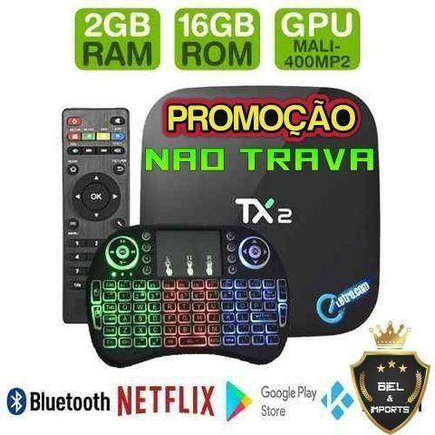 Tx2 Tv Box Android Tx2 16gb 2gb Ram bluetooth Nao Trava