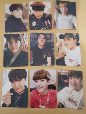 Cards fanmade bts