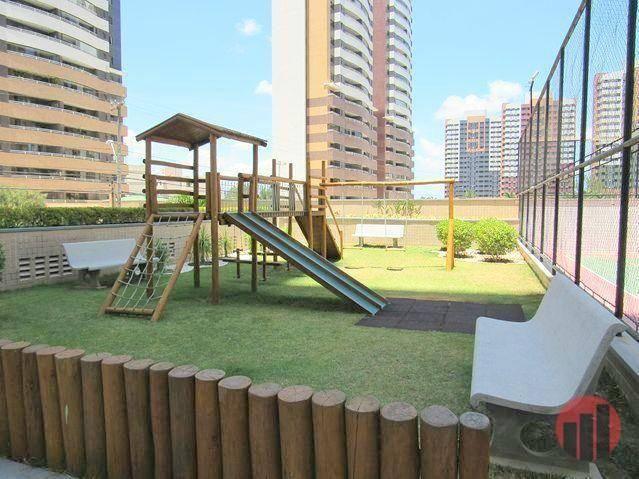 Apartamento todo mobiliado com 2 dormitórios para alugar, 57 m² por R$ 2.000/mês - Cidade  - Foto 7
