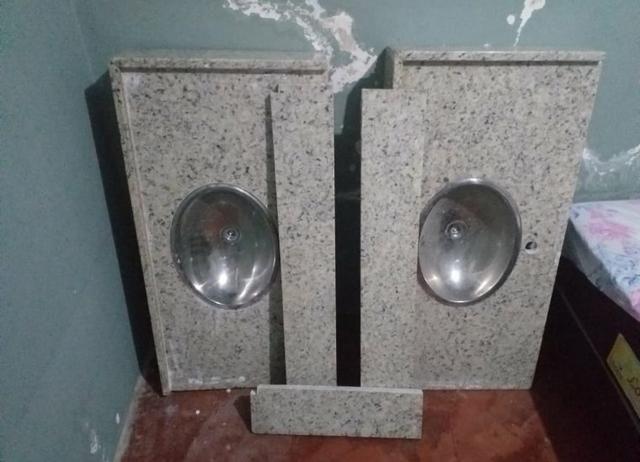 Pias de banheiro granito - Foto 2