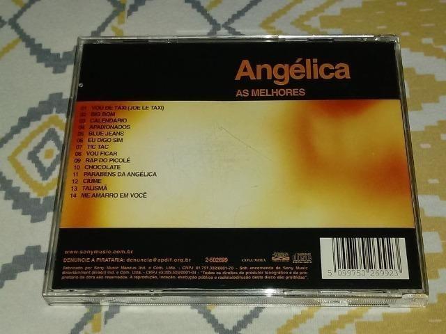 Cd Angélica - As Melhores - Vol. 2 - RARO - Foto 2