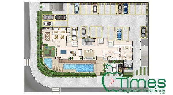 Apartamento  com 3 quartos - Bairro Setor Pedro Ludovico em Goiânia - Foto 14