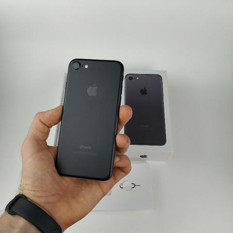 Iphone 7 Preto 128GB! Acessórios + Garantia
