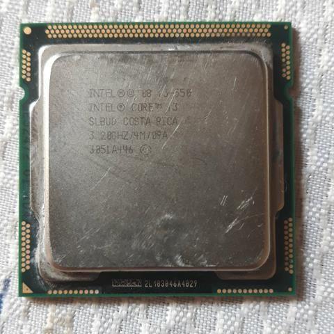 Processador i3 LGA 1156 + DDR3 1gb