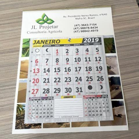 Exclusivo Calendários 2020 Personalizados Vários Modelos Aproveite e Peça Agora