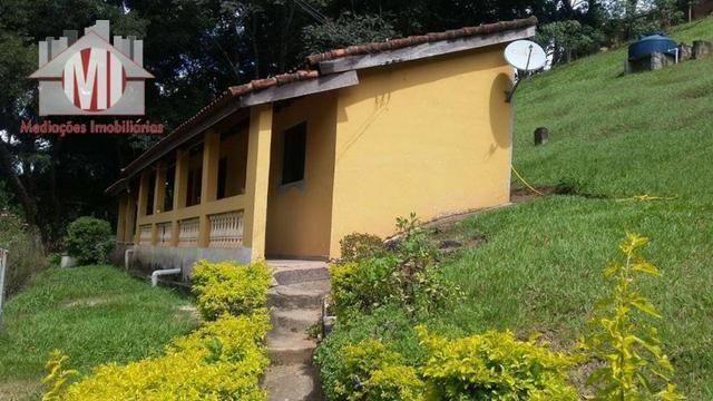Chácara com escritura, 1450 metros, 02 dormitórios, acesso asfaltado - Foto 7