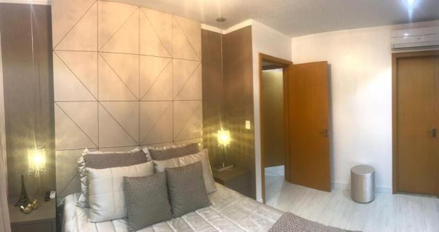 Apartamento todo mobiliado Ed Guiomar Rezende suíte+2quartos - Foto 4