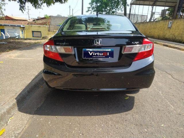Civic lxs 1.8 automático flex 2013 - Foto 7