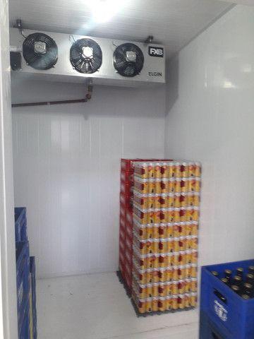 Câmara fria 1,92 x 1,72 x 2,20  medi.externa pronta entrega  - Foto 2