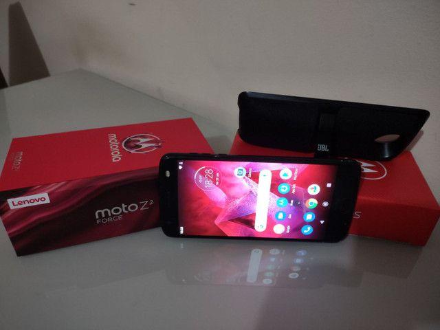 Celular Motorola Z² Force + Snap JBL c/ Bateria e tela na garantia - Foto 5