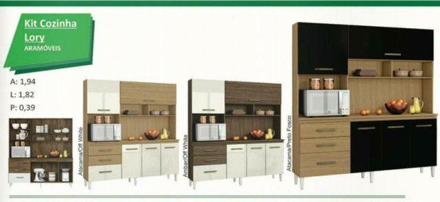 Armário de cozinha3 gavetas e 5 portas