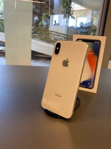 iPhone, X, Silver, 256gb  (SEMI-NOVO) LOJA FÍSICA NEXTECH