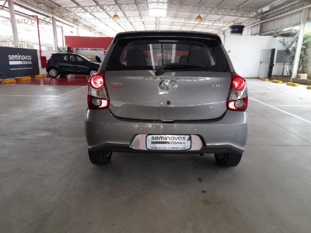 Toyota Etios 1.5 X PLUS 16V FLEX 4P AUTOMATICO - Foto 5