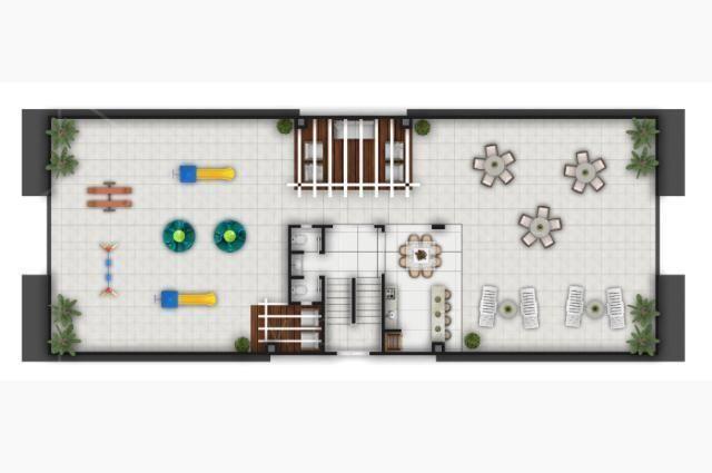 Apartamento para Venda em Ponta Grossa, Uvaranas, 3 dormitórios, 1 banheiro, 1 vaga - Foto 5