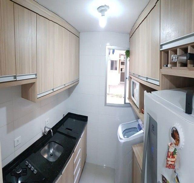 Apartamento com 3 quartos semi mobiliado no_Fazendinha - Foto 6