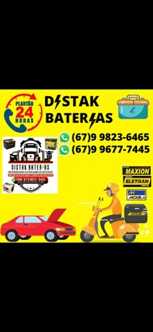 Baterias para carros, caminhões, motos e linhas estacionarias. - Foto 2