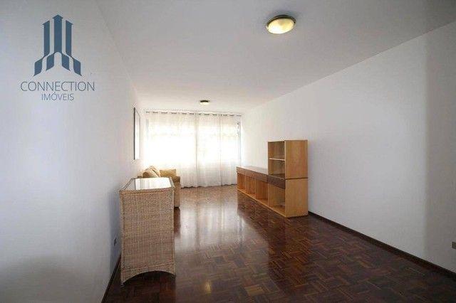 Apartamento com 3 dormitórios para alugar, 120 m² por R$ 2.000,00/mês - Centro Cívico - Cu - Foto 3