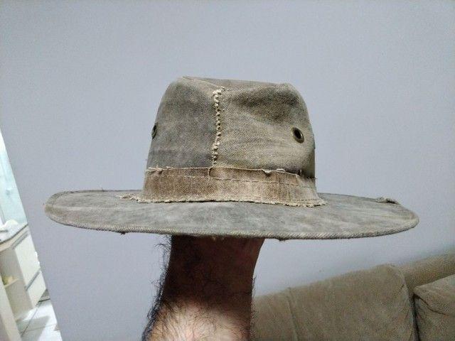 Chapéu de lona de caminhão - Foto 3