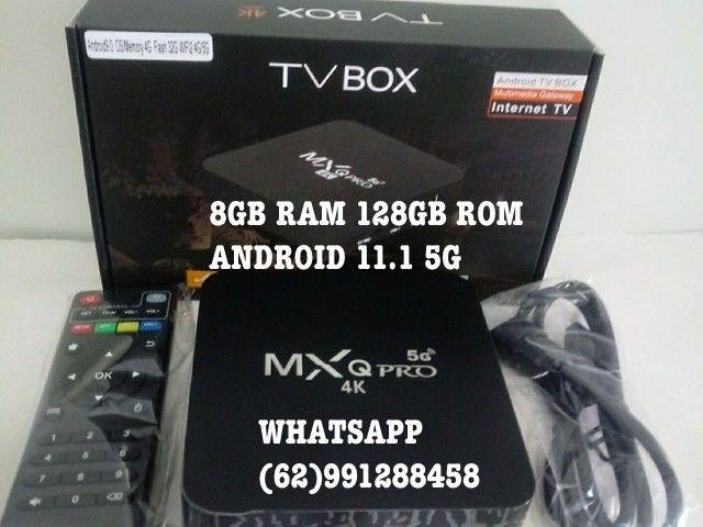 TV BOX MXQ PRO 16GB RAM 256GB ROM AND/11.1