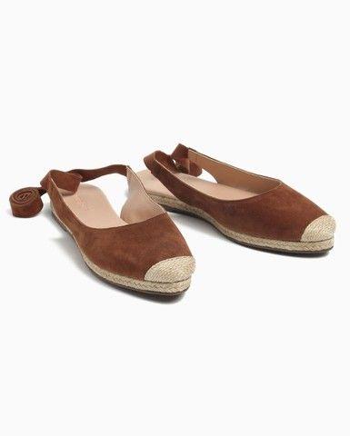 Alpargata Lace Up Camurça Shoes, N°36