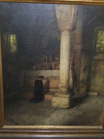 Pintura a óleo de Rubens Santoro - Foto 2